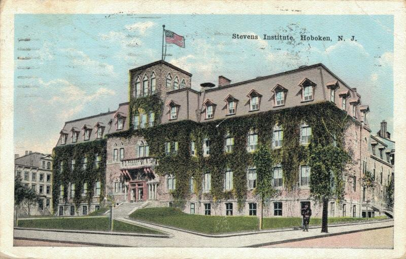 USA - Stevens Institute Hoboken New Jersey 01.82