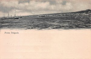 Ponta Delgada, Azores, Early Postcard, Unused, Undivided Back