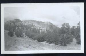 REAL PHOTO PHOTOGRAPH NEAR RED HILL NEW MEXICO 3.5 X 5.5 NM