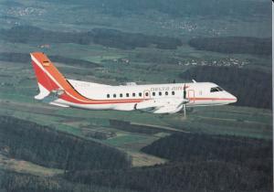 DELTA AIR, SAAB 340, unused Postcard
