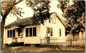 Waterville, Minnesota RPPC Postcard Luker's Cottage, Lake Tetonka - RYAN Photo