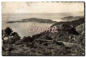 Old Postcard Eze and Cap Ferret