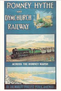 England Romney Hythe and Dymchurch Railway Across The Romney Marsh