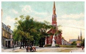 Maine Biddeford City Square