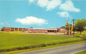 Santee South Carolina~Holiday Inn Hotel & Restaurant~1960s Postcard