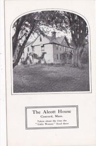 Massachusetts Concord The Alcott House