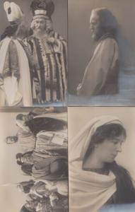 Passionsspiel Oberammergau 1910 Antique 4x Vintage Postcard s