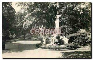 Old Postcard Lille Nord Monument Desrousseaux author of little Quinquin