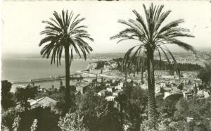 Nice, Vue generale, 1960 used Real Photo Postcard