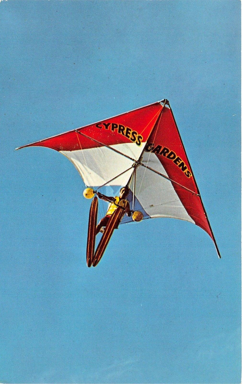 Winter Haven Florida~Cypress Gardens Delta Wing Kite~Man