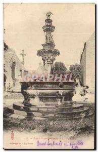 Old Postcard Saint John in Finger Fountain