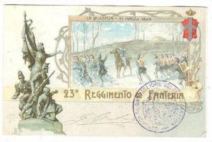 23 Reggimento di Fanteria, ITALY , PU-1899
