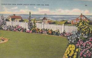 Massachusetts Cape Cod Cockle Cove From Joseph Lincoln Estate 1944