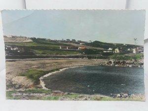 Vintage Rp Postcard Crabby Bay Alderney Channel Islands Posted 1960s