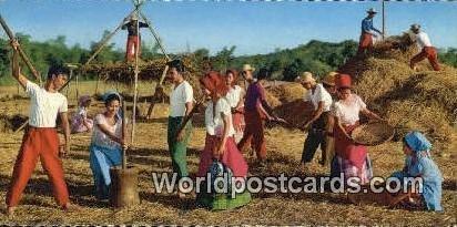 Sa Kabukiran, Imitation of various aspects of rural life Philippine Normal Co...