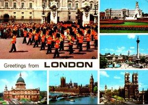 England London Greetings Multi View 1985