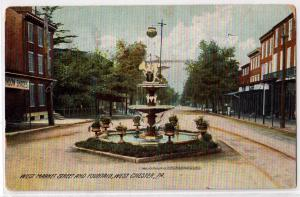 West Market St. & Fountain, West Chester PA
