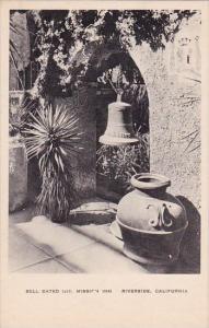 California Riverside Bell Dated 1217 Mission Inn Albertype