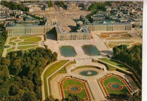 BF13827 chateau de versailles yvellines le palais les pa france front/back image
