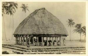 samoa, PAGO PAGO, The Gathering Place (1920s) RPPC Postcard