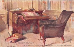 BR39923 Scott s Countryy Sir Walter scott desk Abbotsford england