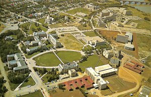 Aerial view University Cancer research Cobalt Bomb Agricultural National