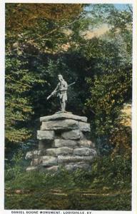 KY - Louisville, Daniel Boone Monument