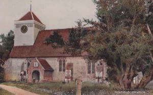 Ninfield Church Sussex Postcard