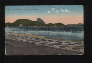 053344 BRAZIL Rio de Janeiro Avenida Atlantica Old