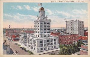Florida Tampa City Hall And Bay View Hotel