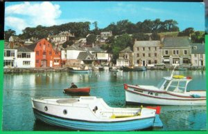 England The Harbour Padstow - posted 1973
