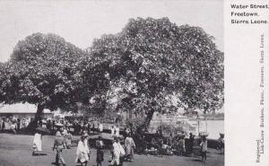 Water Street, Freetown, Sierra Leone, Africa, 1910-1920s