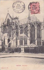 France Troyes Eglise Saint Urbain 1905