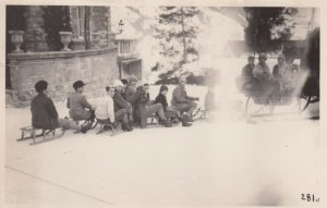 RP: Sledding , St Moritz,  1928