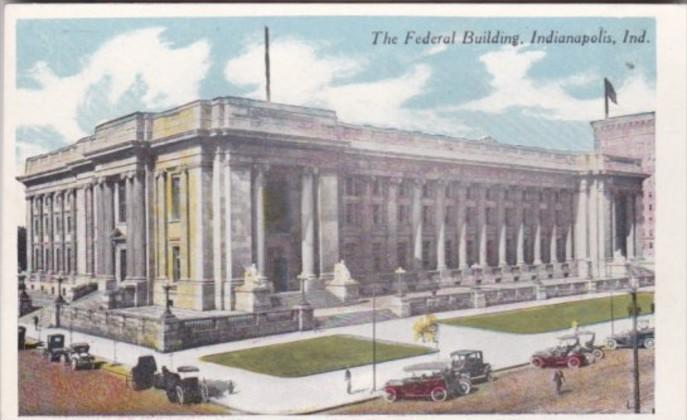 Indiana Indianapolis The Federal Building