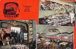 South Tacoma Washington Steves Multiview Antique Postcard K77604