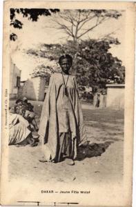 CPA Senegal-Dakar-Jeune Fille Wolof (235485)