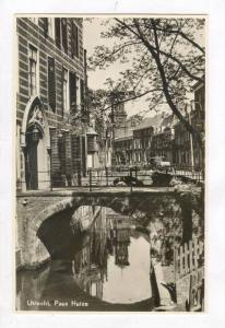 RP: Canal and Town / Paus Huize,Netherlands 1910-20s