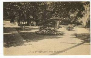 A View Of Morningside Park, Bridgeton, New Jersey, 1900-1910s