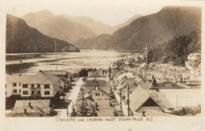 RP: OCEAN FALLS , B.C. , 1910-30s ; Cousins Inlet
