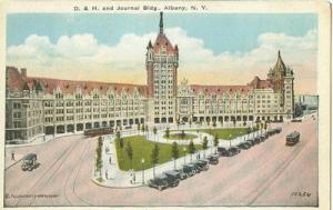 D & H. and Journal Building, Albany New York 1910s unused...
