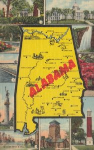ALABAMA , 30-40s ; Map and Points of Interest views