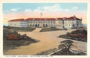Key West Florida Hotel Casa Marina Exterior Vintage Postcard J926368
