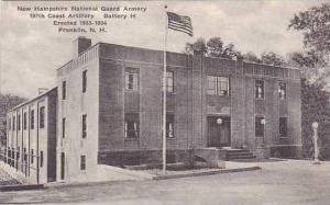 New Hampshire Franklin National Guard Armory Albertype