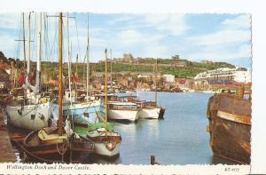 Postal 034443 : Wellington Dock and Dover Castle