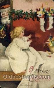 Artist Ellen Clapsaddle, Christmas Postcard Post Cards