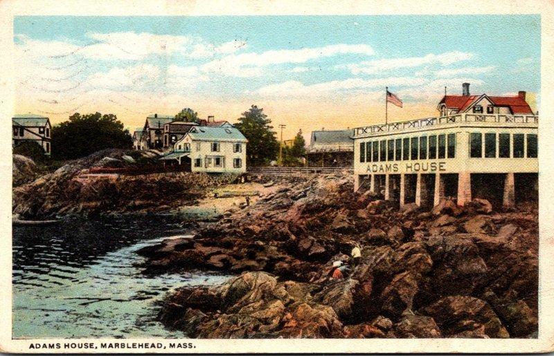 Massachusetts Marblehead Adams House 1921 Curteich