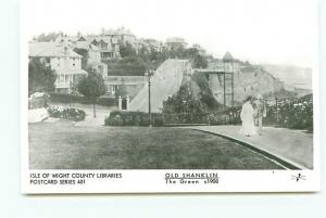 Postcard RPPC? Old Shanklin The Green c1908 Isle of Wight England  # 3552A
