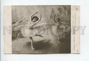 3176917 Dancing BALLERINAS by MESPLES vintage SALON 1910 PC