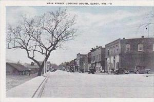 Wisconsin Elroy MainStreet Looking South